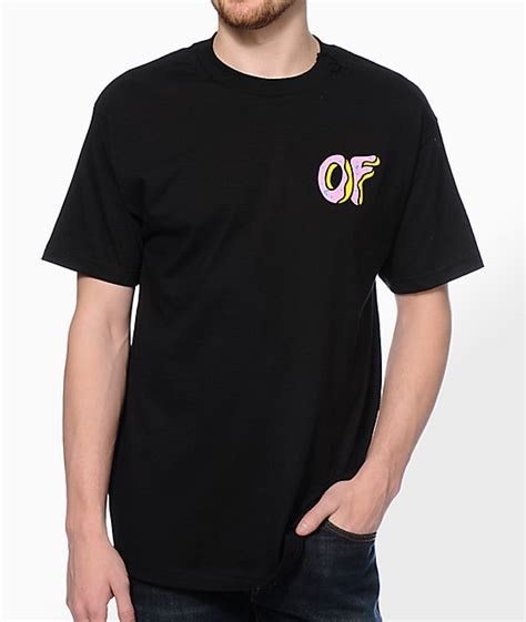 Tshirt Future Of future of donut black t shirt zumiez