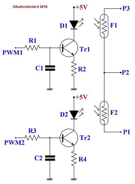 funzionamento transistor bc547 fotopotenziometro pilotato da arduino uno
