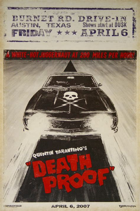 film by quentin tarantino death proof death proof planet terror vintage movie posters