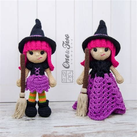 amigurumi witch pattern willow the witch lovey and amigurumi crochet patterns pack