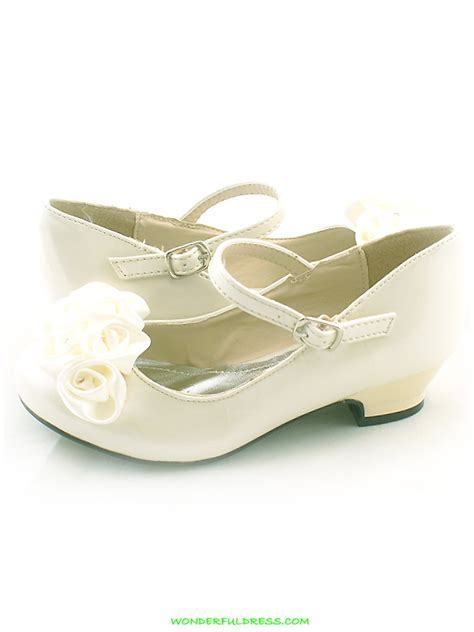 flower dress shoes shoes ivory roses ornamental flower shoes