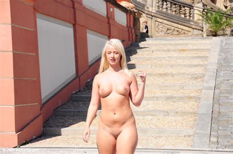 Micha Crazy Blonde Nude In Public Naked In Public Tv