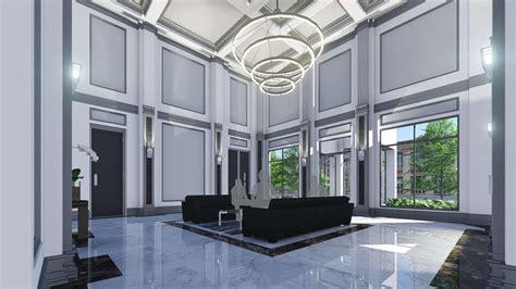 design concept condo unit condominium lobby concept design architizer