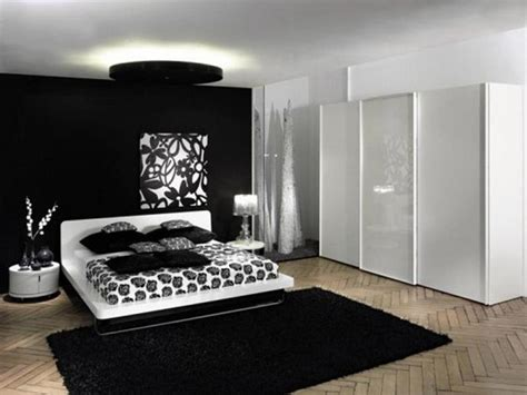 Bedroom Ideas Black And White | modern black and white bedroom ideas