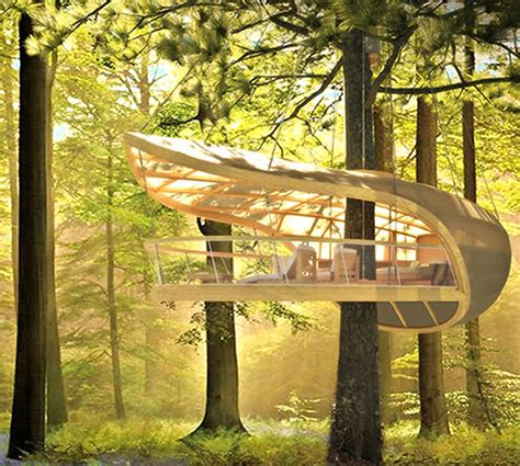 modern tree house design jetson green innovative sustainable tree house design
