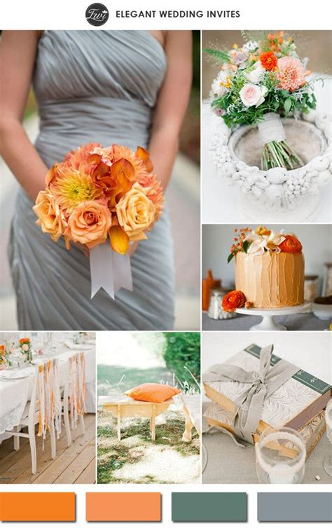 17 best ideas about orange wedding colors on fall wedding colors wedding color