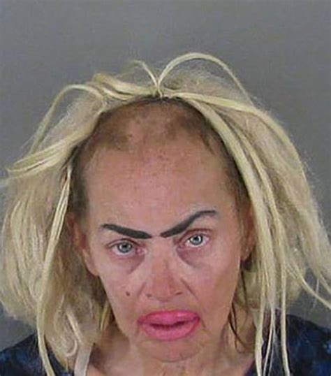 Bad Old Lady Haircuts | america s worst mugshot hairstyles daily mail online