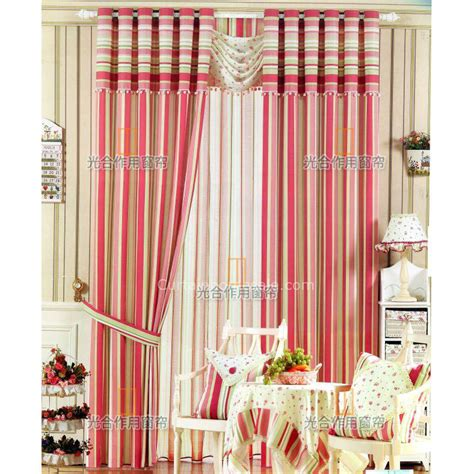 mediterranean style curtains red striped poly and cotton mediterranean style modern