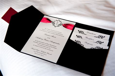Black Wedding Invitations by White And Black Wedding Invitations