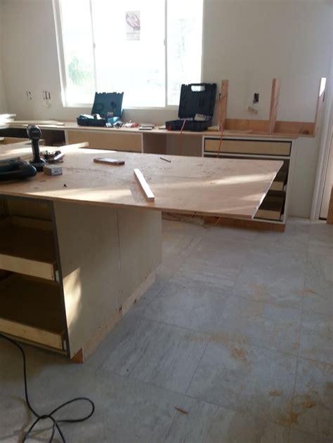 granite overhang support kitchen island granite overhang support