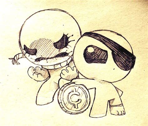 doodle mammon oh onii all of my isaac doodles 3 end