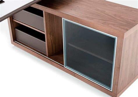 modern office desk and side storage cabinet desks