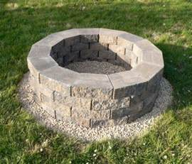 Simple Backyard Fire Pit Steps To Build Fire Pit Diy