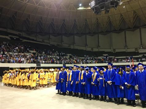 comfort high school address phoebus grads told to step out of their comfort zones