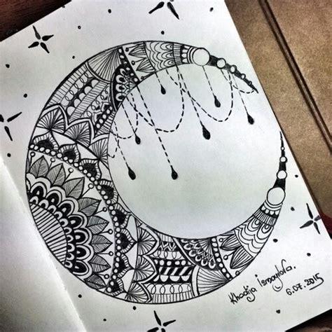 draw a pattern in c draft draw mandala moon image 3959615 by derek ye on
