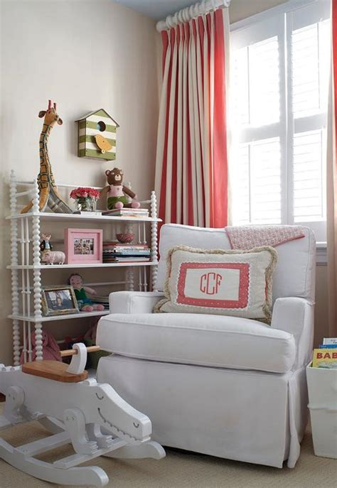 nursery with lind bookcase transitional nursery