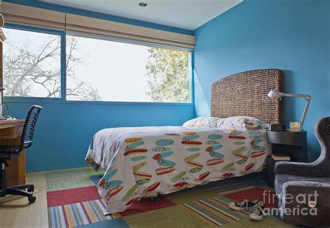 surf themed bedroom photograph by inti st clair