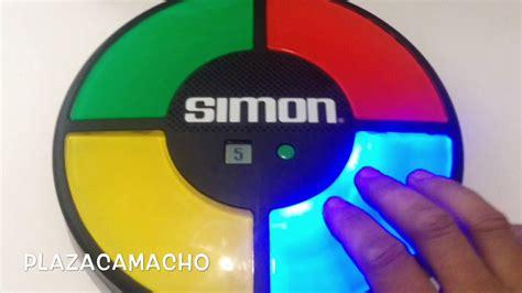 simon simon juegos de 8421698036 191 recuerdas este juguete simon juego de 1980 juego mental youtube