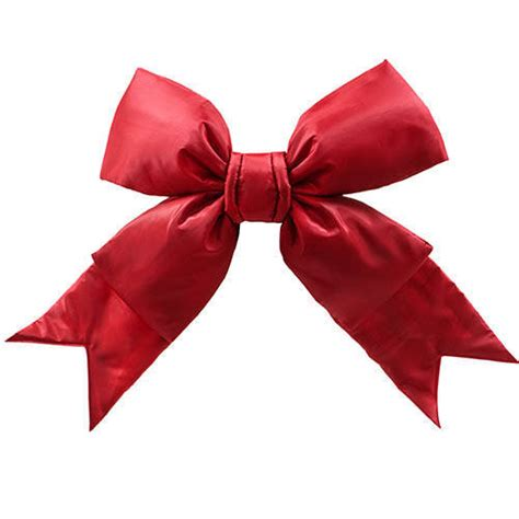 large outdoor christmas bows