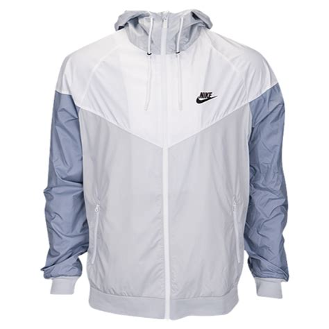 Jaket Parasut Nike Jaket Windbreaker Windrunner Grey Black 1 nike windrunner jacket s casual clothing platinum white glacier grey black