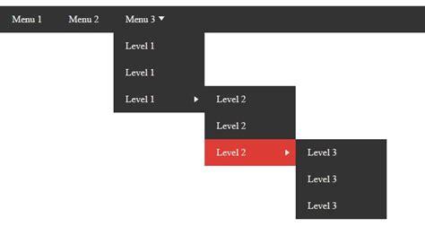 tutorial membuat dropdown menu spry menu bar horizontal cara membuat dropdown menu 3 level efek animasi css3
