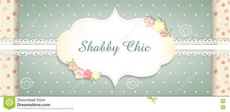 Shabby Chic Gift Card Template by Shabby Chic Congratulations Card Vector