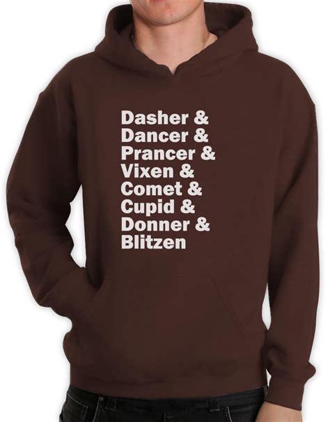 Meme Hoodie - raindeer name list hoodie rudolph santa meme funny xmas