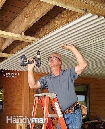 deck roof decking porch  backyard