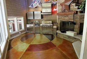 Wood Overlays For Cabinets Concrete Flooring Finishing Styles Colors And Options