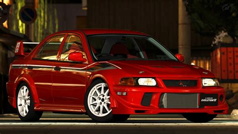 mitsubishi lancer evo 6 1999 mitsubishi lancer evo vi t m scp gt5 by
