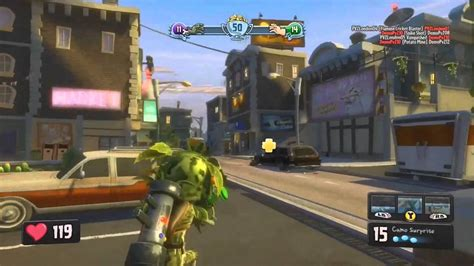Garden Warfare Gameplay by Plants Vs Zombies Garden Warfare Recensione Ps4