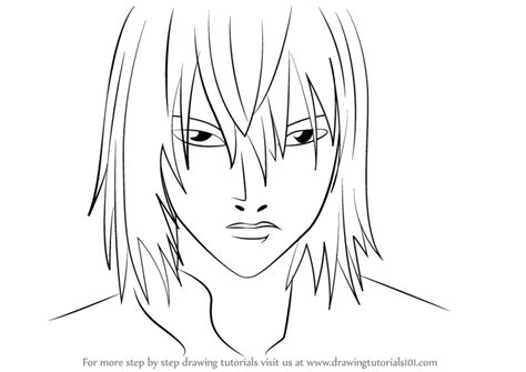 step by step death note near hairstyle learn how to draw mello from death note death note step