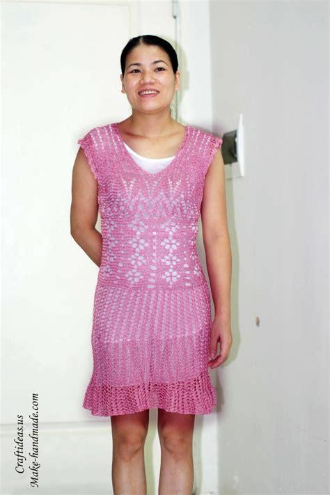 Handmade Crochet Clothing - crochet so beautiful lace dress for make handmade
