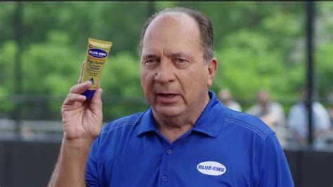 johnny bench blue emu blue emu pain relief cream tv commercial baseball field