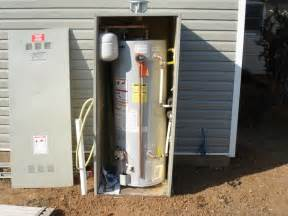 Vinyl Patio Enclosure Outdoor Water Heater Enclosure To Protect And Maintain Its