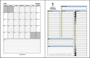 free download october 2013 daily planner pages chaos40 com