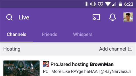 Twitch Giveaway App - twitch app updated with new ui mobile streaming and more apk download