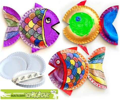 Paper Plate Arts And Crafts - paper plate by krokotak