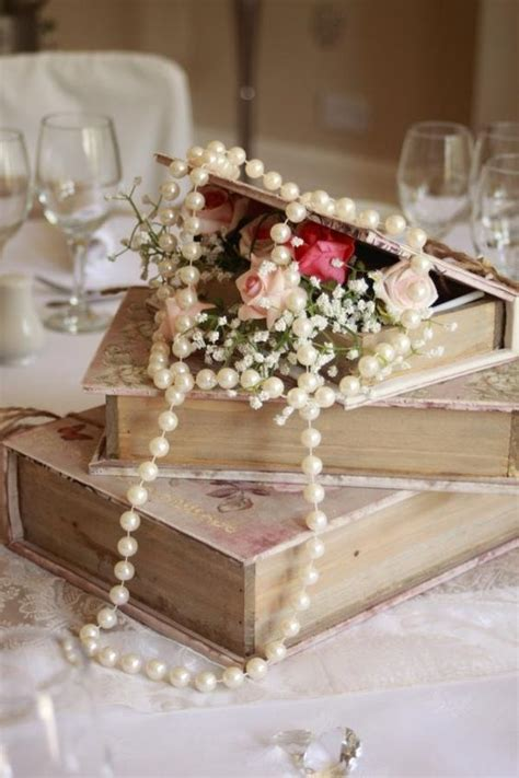 shabby chic centerpieces best 25 pearl wedding decorations ideas on