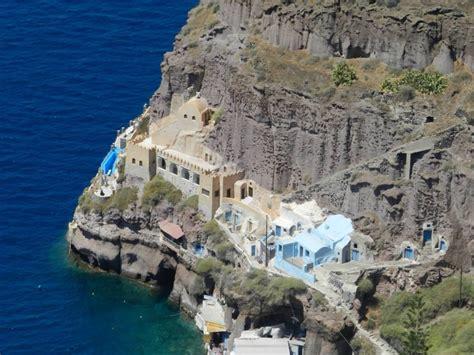 porto santorini porto vecchio di fira viaggi vacanze e turismo turisti