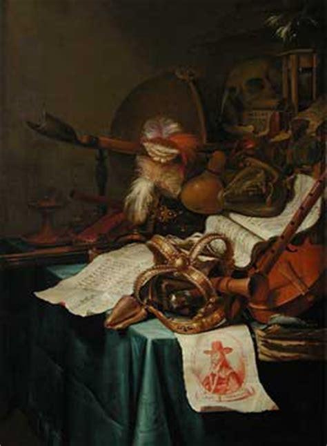 Vincent Laurensz Der Vinne Vanité Avec Une Couronne Royale by Textimage Olivier Leplatre 6
