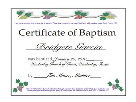 catholic baptism certificate template pin catholic baptism certificates pictures on