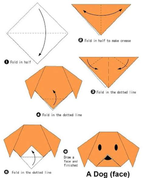 How To Make A Paper Puppy - how to make origami how to make origami