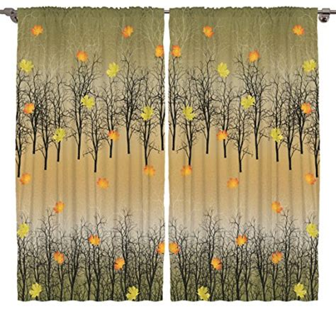 Fall Color Curtains Decor Looking For Fall Themed Curtains Shopswell