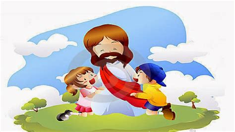 imagenes biblicas de jesus con niños fondos y postales fondos de jes 250 s con los ni 241 os