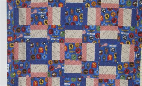 Navy Patchwork Quilt - is like a patchwork quilt navy potato
