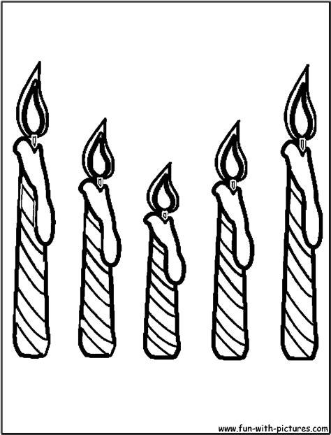 Candles Coloring Page Candles Coloring Pages