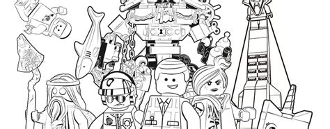 Coloring Pages Lego Comll