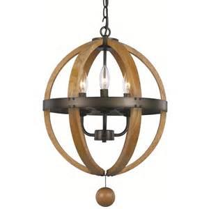 Globe Lighting Pendant Trans Globe Lighting 70600 3 Light Pendant In Weathered Bronze