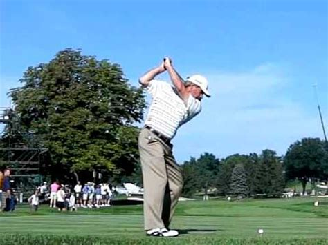 why do couples swing fred couples slow motion swing youtube